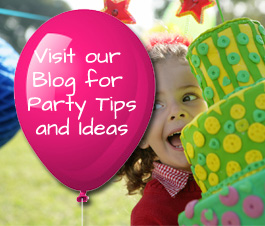 visit our blog for children's birthday party tips and ideas